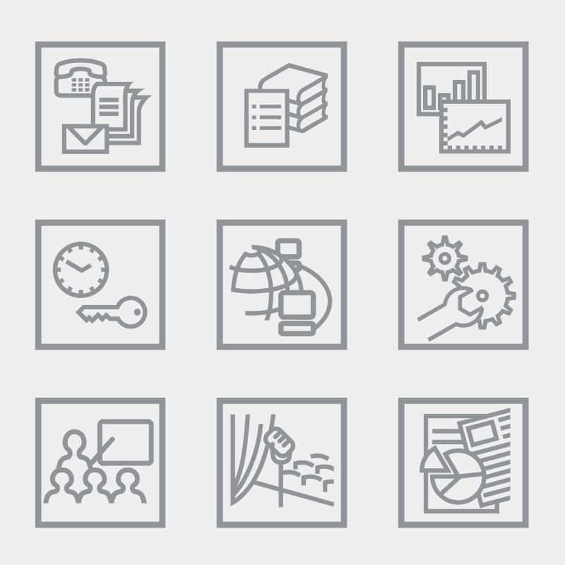 Icons für die CELOOK GmbH, Querfurt