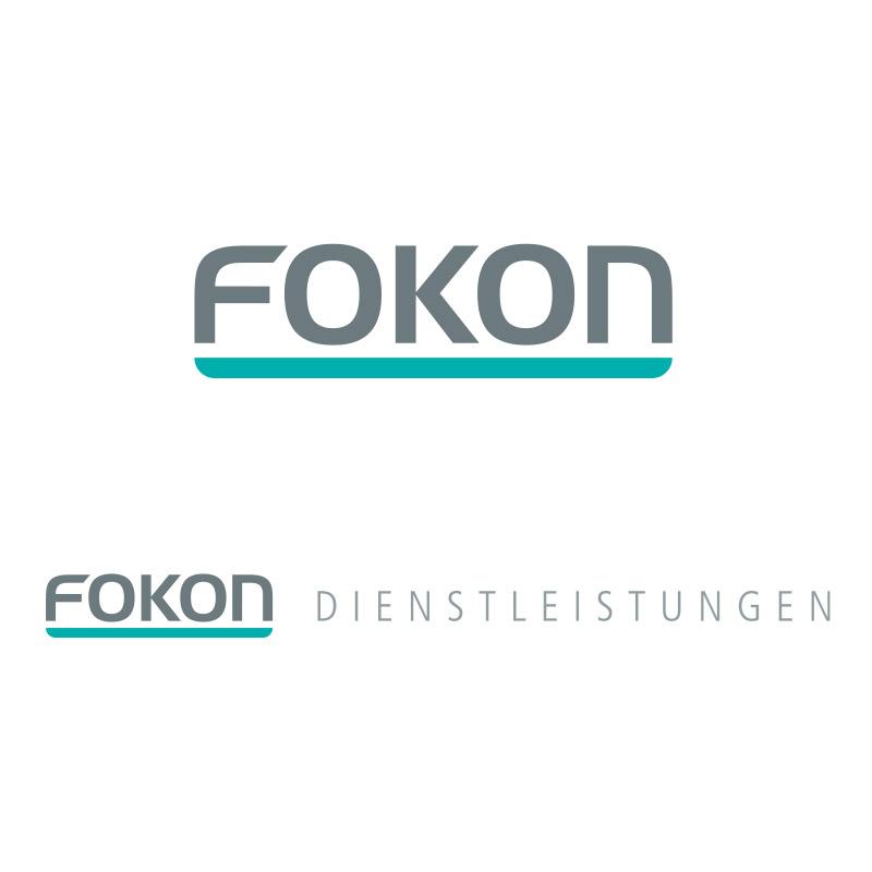 Logo für die FOKON GmbH, Leipzig