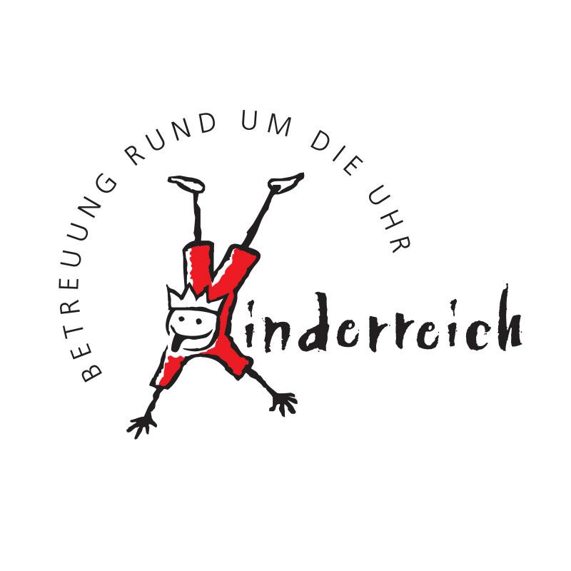 Logo für die Kinderreich GmbH – private Kinderbetreuung in Halle/ Saale