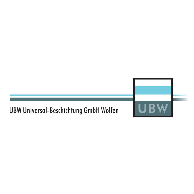 Logo für die UBW Universal-Beschichtung GmbH Wolfen