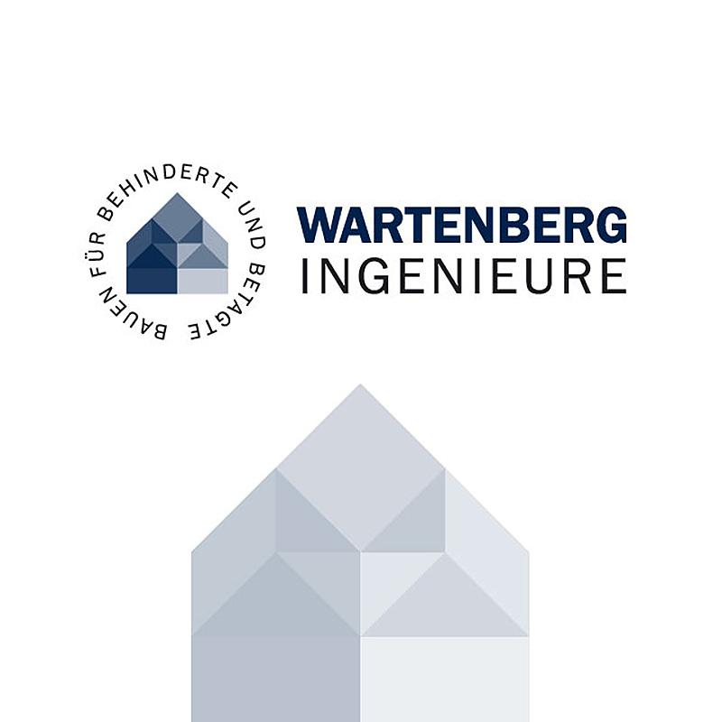 Logo für die Wartenberg Ingenieure – Spezialisten für barrierefreies Bauen, Leipzig