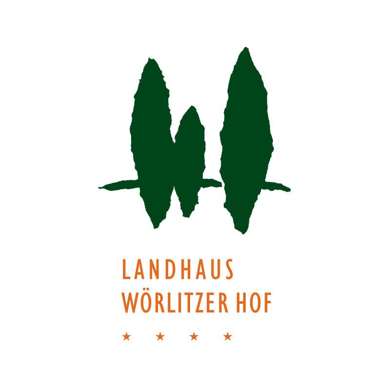 Logo für das Hotel Landhaus Wörlitzer Hof, Wörlitz